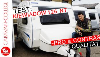 Wohnwagen Niewiadow 126 NT: Vorstellung, Vor- & Nachteile, Langzeittest