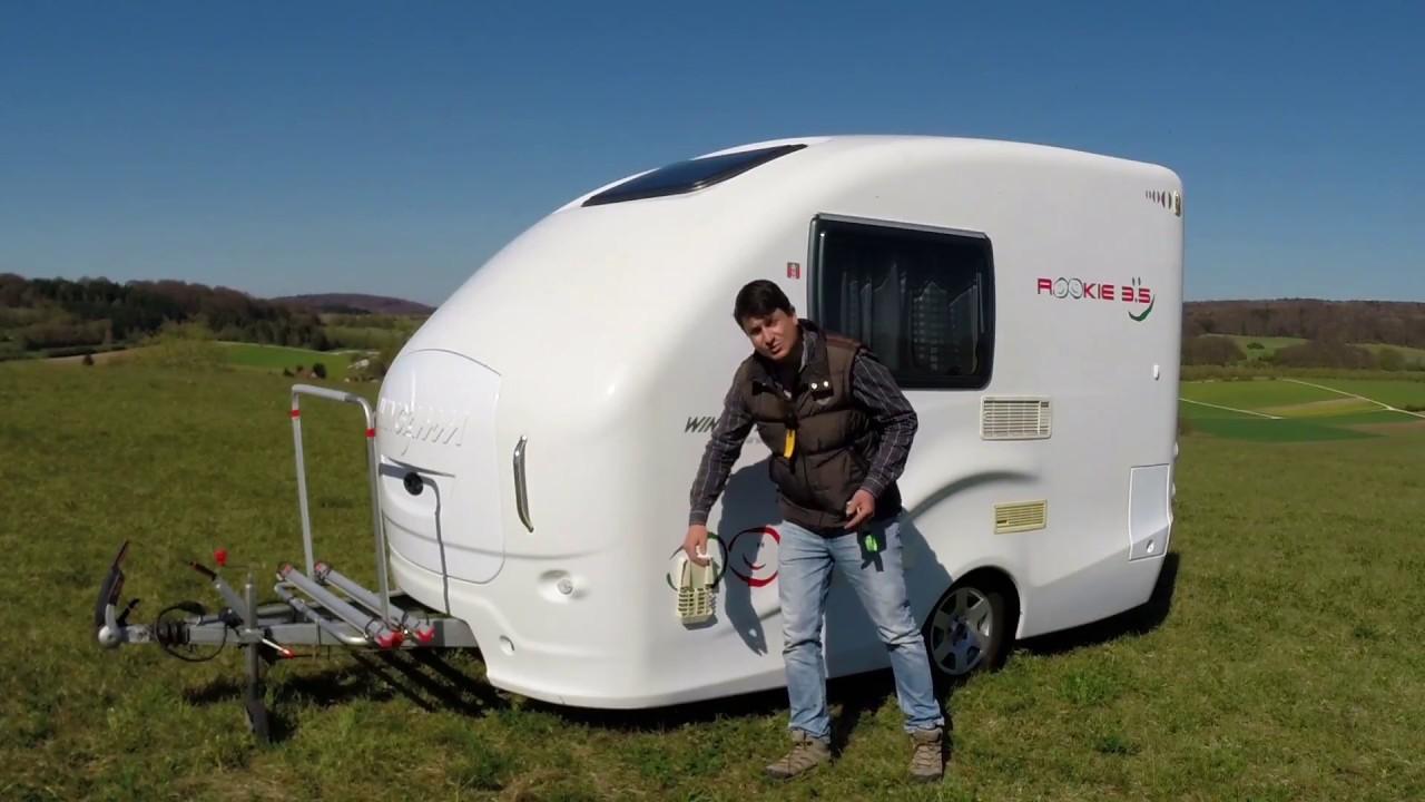Wohnwagen Wingamm Rookie 3.5 – Vorstellung und Langzeittest