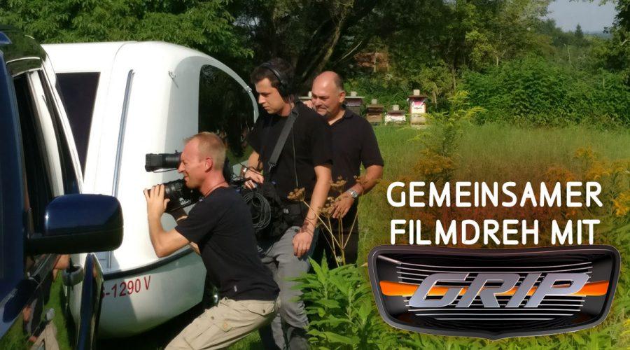Filmdreh mit GRIP und Caravan-College