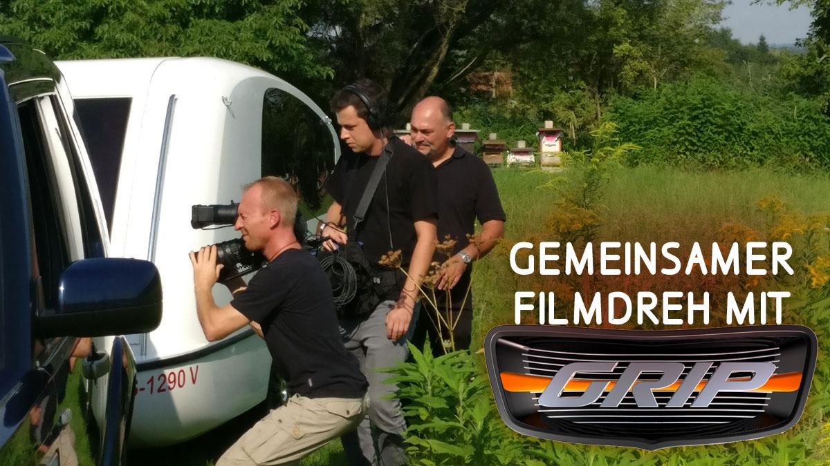 Filmdreh mit Grip und Caravan-College Sealander