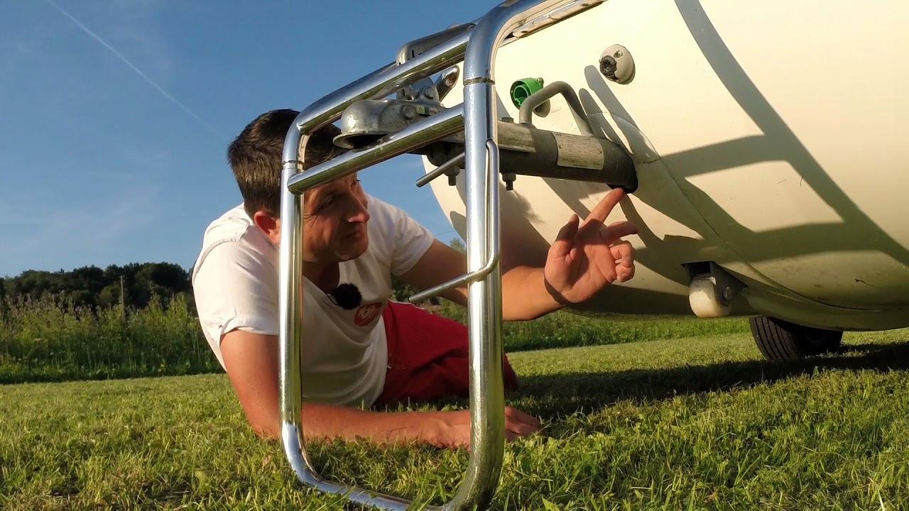 Schwimm-Caravan Sealander – Mängel, Tipps und Verbesserungen – Teil 2