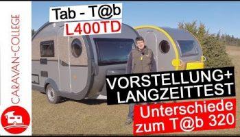 Wohnwagen T@B L400TD- Vorstellung, Pro und Contras, Modellvergleich