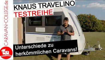 Test: Wohnwagen Knaus Travelino