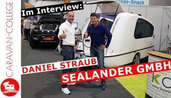 Sealander Schwimmcaravan Teil 5: Interview mit Daniel Straub – Sealander GmbH