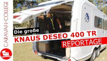 TEST: KNAUS DESEO 400 TR