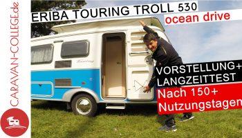 TEST: Hymer ERIBA Touring Troll 530 *ocean drive*