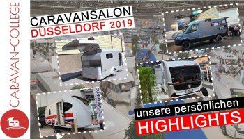 Unsere persönlichen Messe-HIGHLIGHTS I Caravan-Salon Düsseldorf 2019