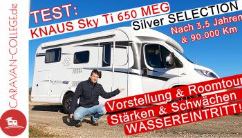 TEST: KNAUS Sky Ti 650 MEG Silver Selection