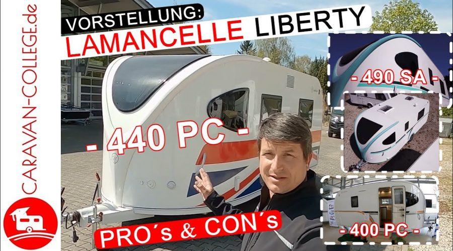 Vorstellung & Vergleich: Die drei Größen LaMancelle Liberty 440PC I 490SA I 400PC
